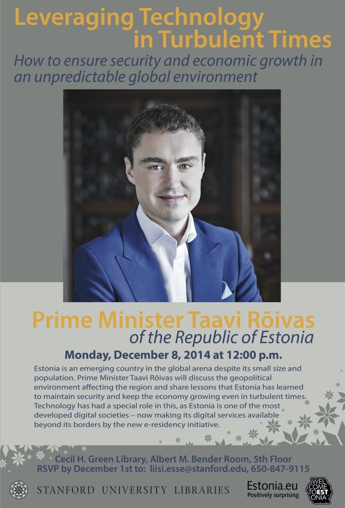 Prime Minister Roivas Poster with abstract_gray v4